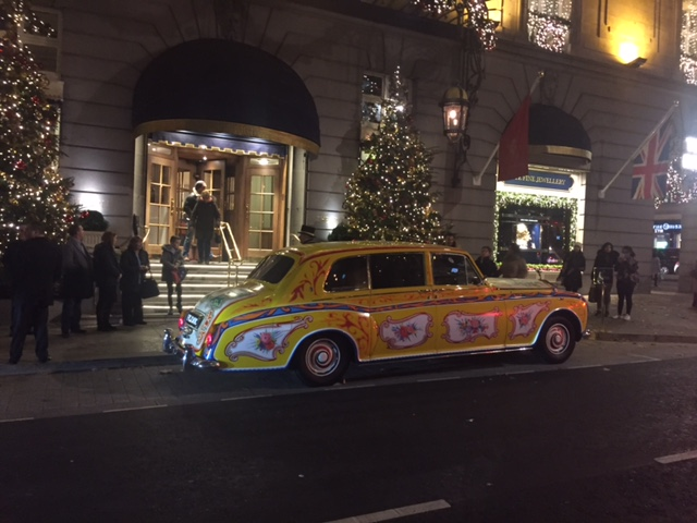 Outside the Ritz, London